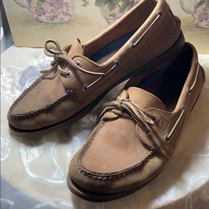 Sperry boat shoes Sz 9M 1097640 brown top sider